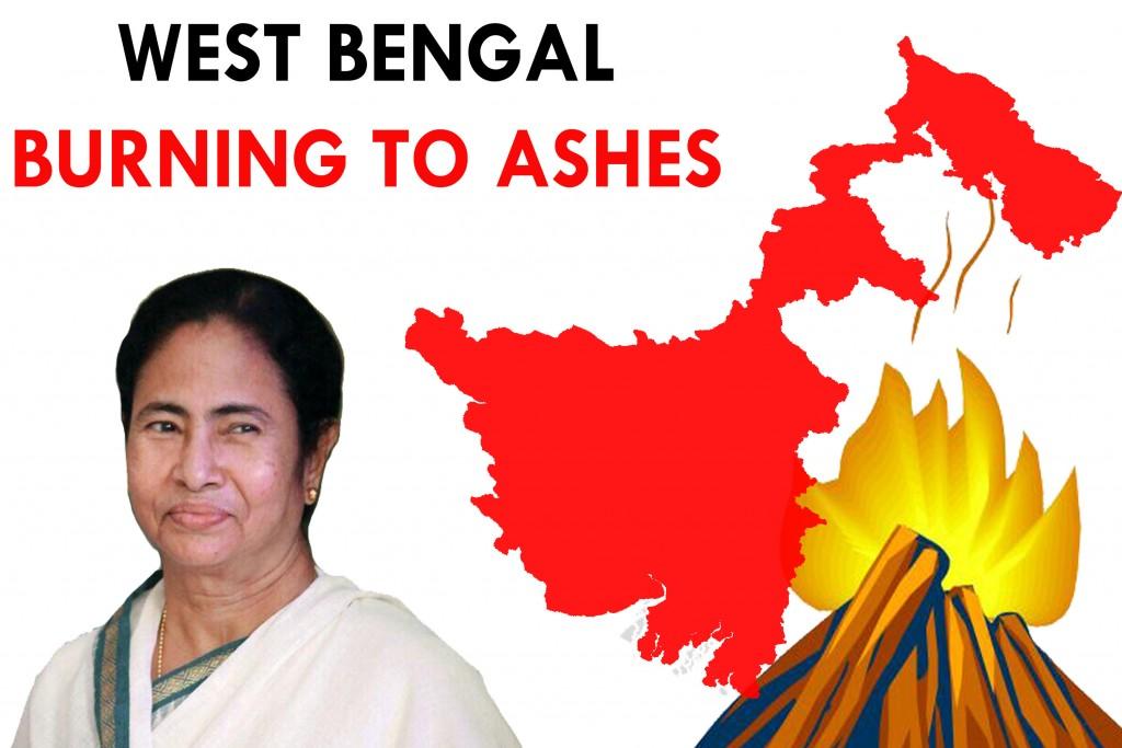 6-West Bengal burning