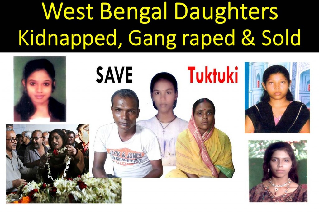 west bengal daughters kidnapped, gangraped and sold