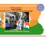 "TALK:""Corona Pandemic – Origin, Global Impact & India's Struggle""at FISI (May 11, 2021)"